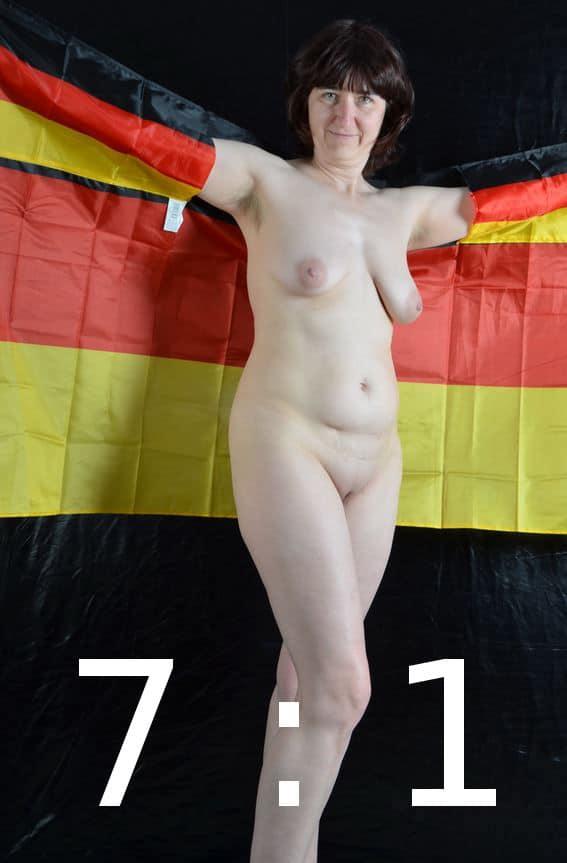 Deutschland-MILF in Weltmeister 2014